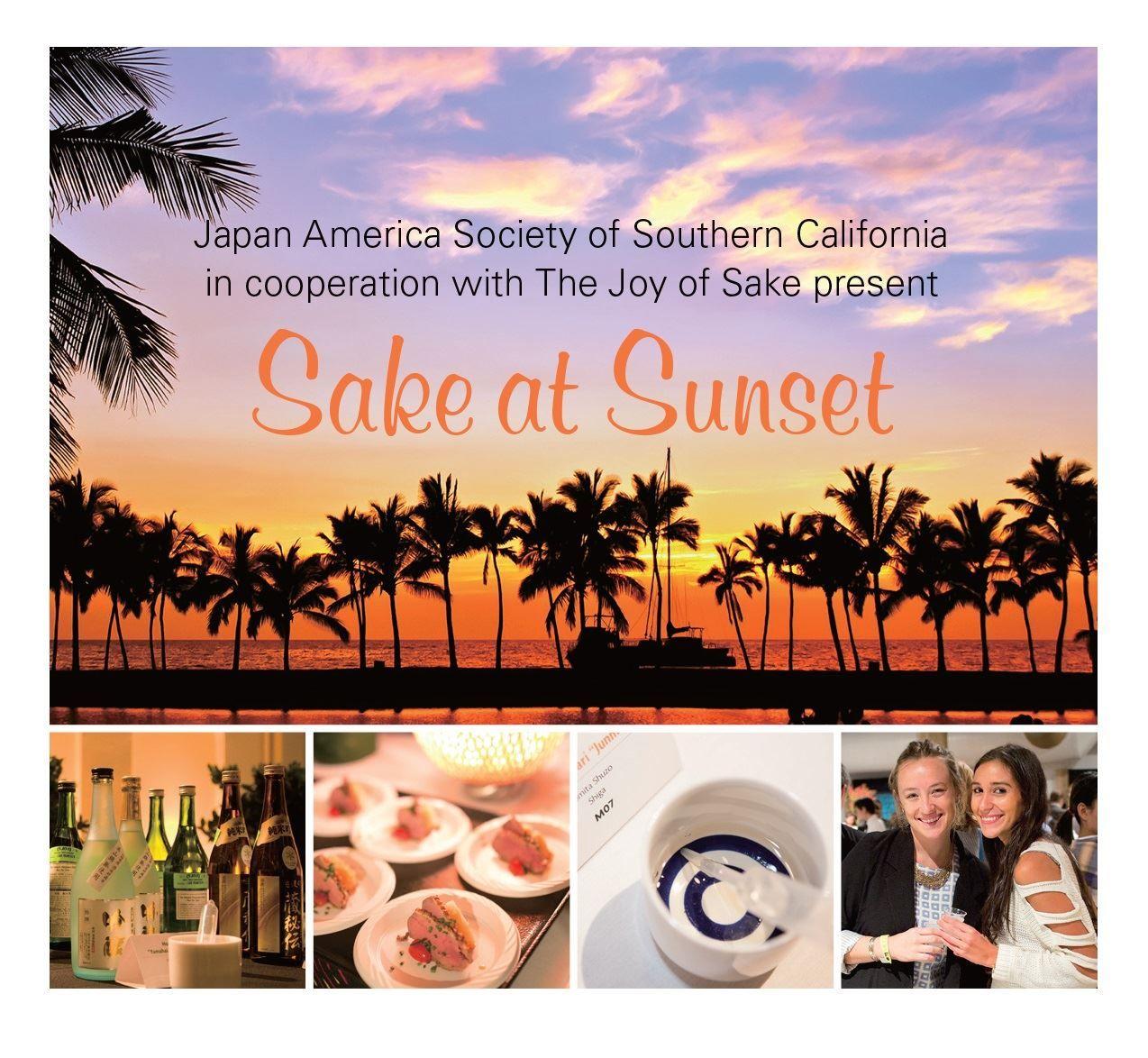 Japan America Society of Southern California - Sake at Sunset
