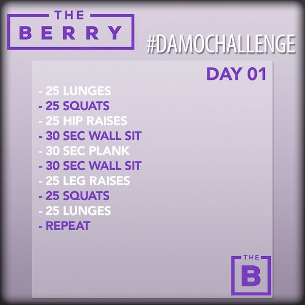 Berries For The Next 30 Days Well Be Posting A Daily Workout Challenge Use DAMOChallenge To Keep Up With Other And Share Your Friends