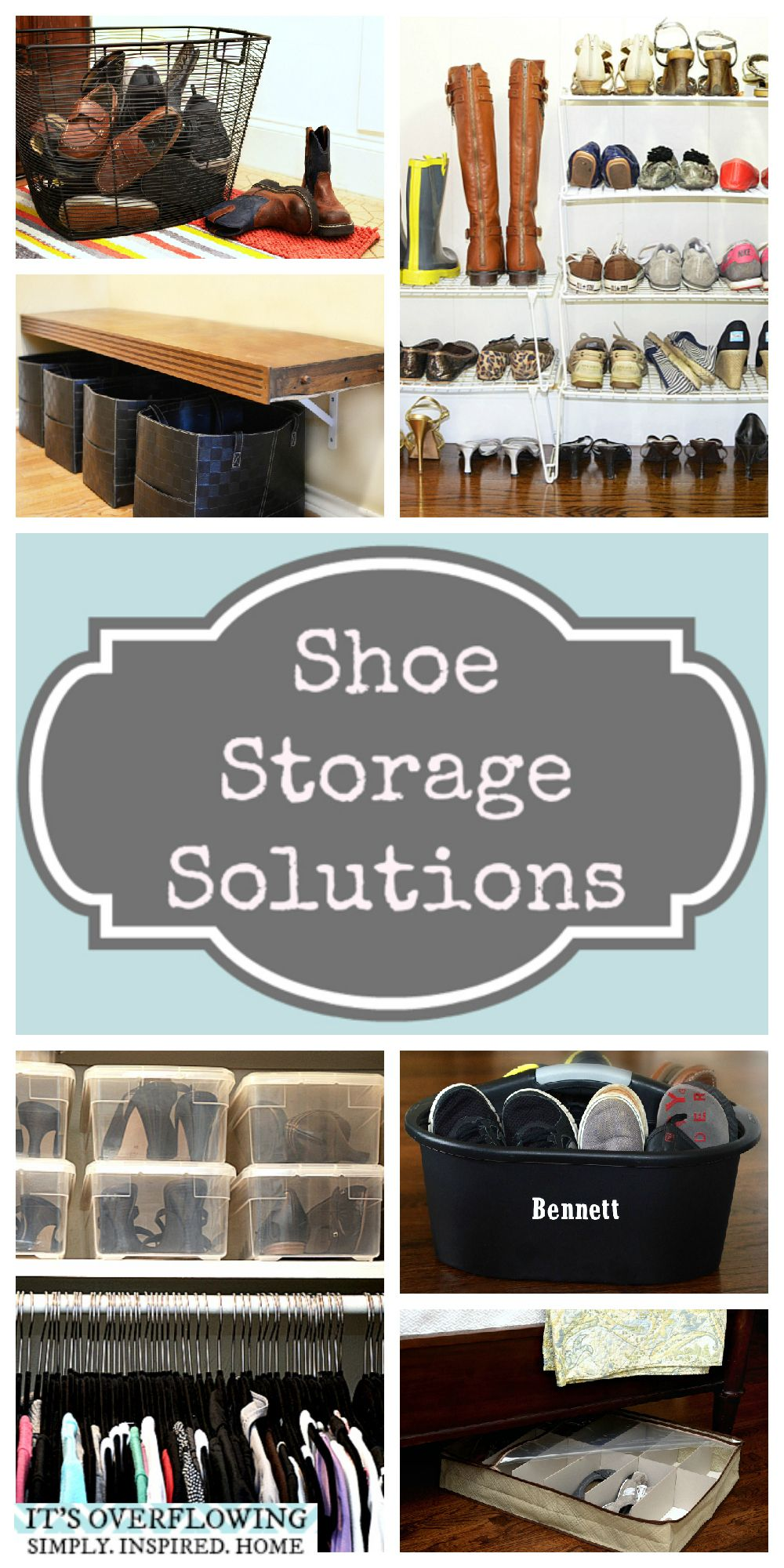 GREAT Shoe Storage Solution click to