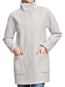 Women's Solid Blanket Coats | Old Navy