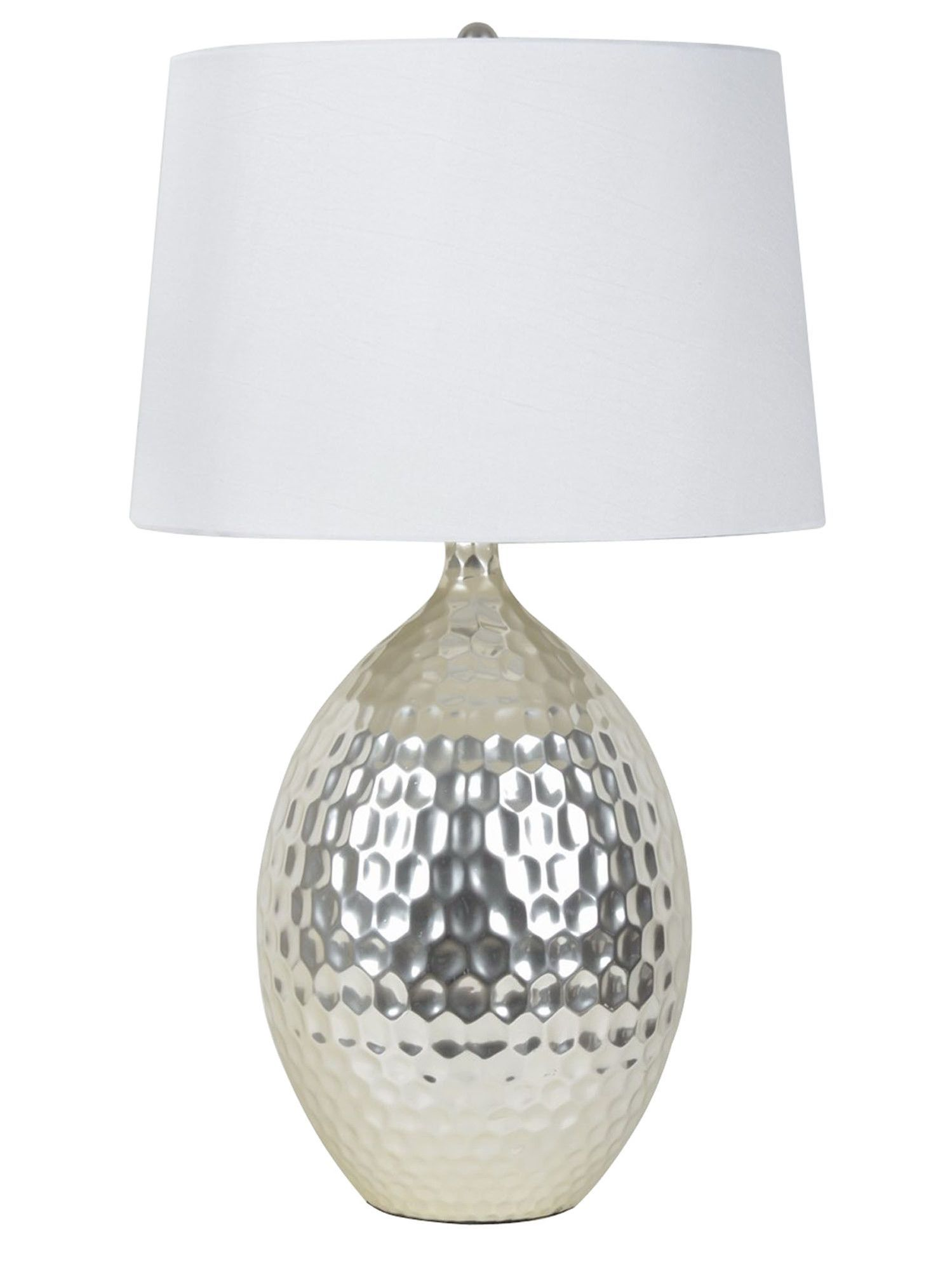 J Hunt Home 28 5 H Table Lamp With Empire Shade Silberne Tischlampen Silberne Lampe Lampe