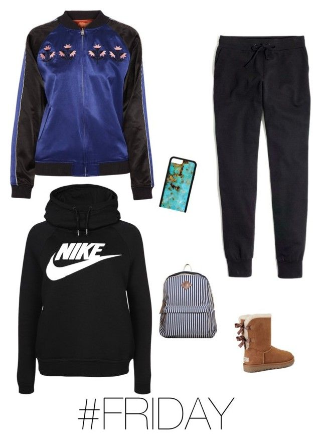 """"""""""" by jadesfit on Polyvore featuring NIKE, Opening Ceremony, Madewell and UGG"""