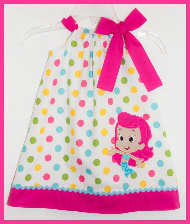 Pretty Polka dot Molly Bubble Guppies applique dress | ✿ кι∂ѕ ...