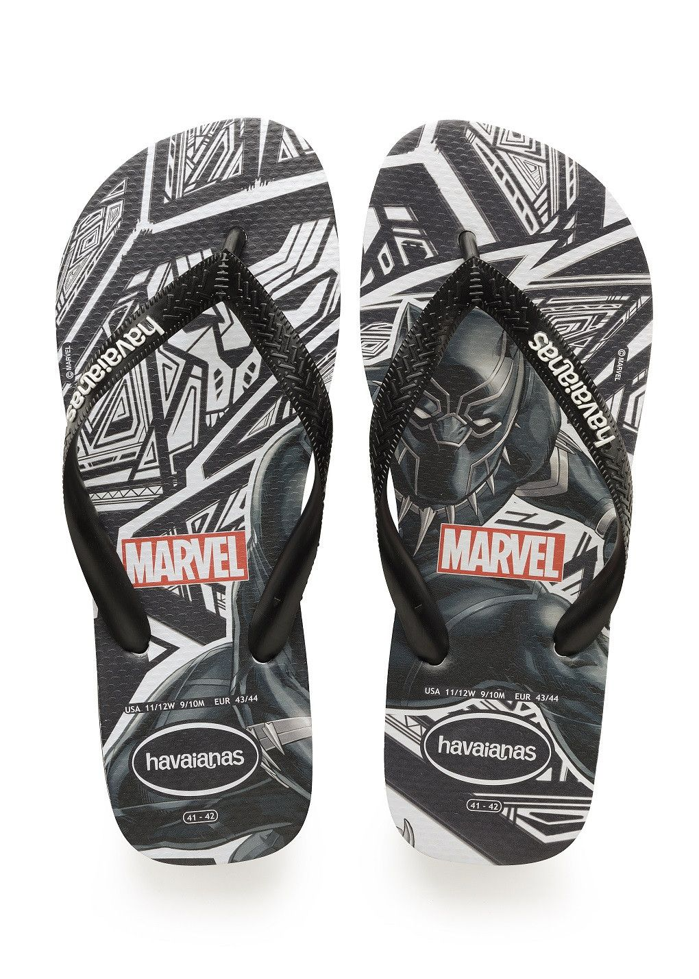cb8f89942 Havaianas Top Marvel Black Panther Sandal Black Price From  ₩27