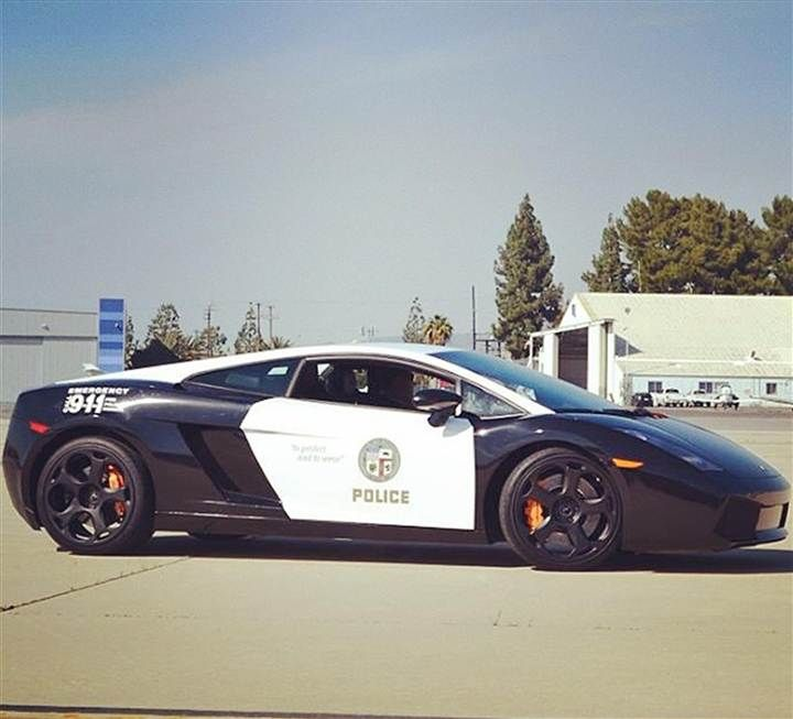 Swift Justice Los Angeles Police Get A Lamborghini Police Cars