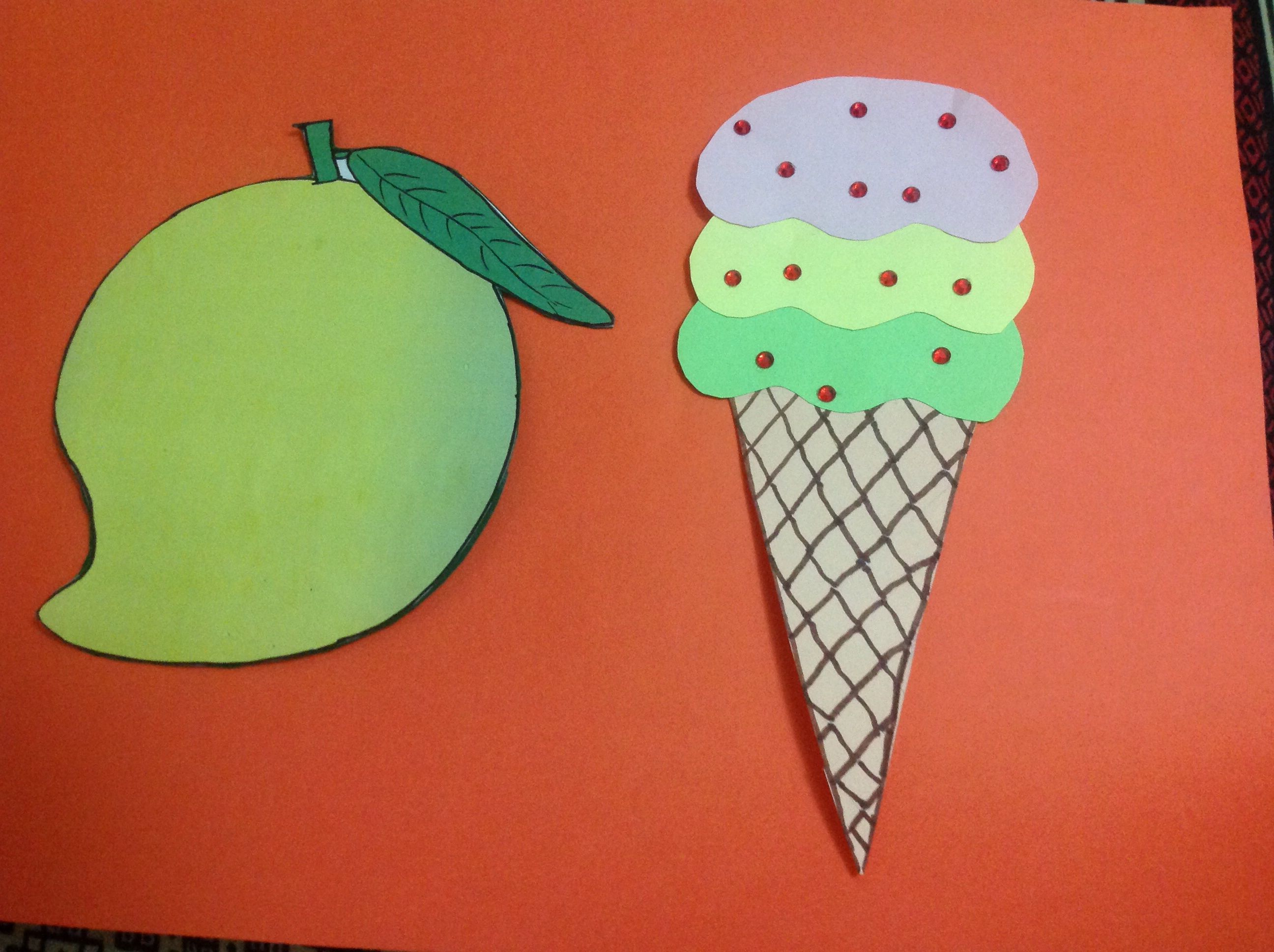 Summer season craft activity | Summer season craft | Pinterest