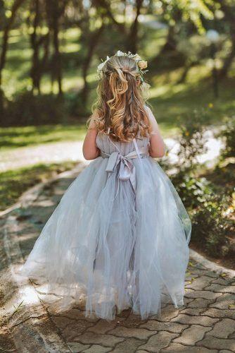 21 Flower Girl Dresses To Create A Magic Look | Wedding Forward -   19 dress Flower Girl blue ideas