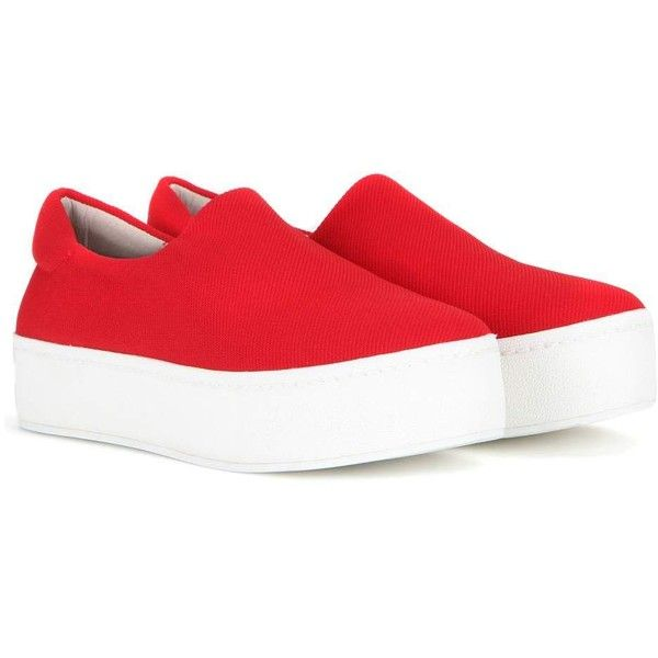 440ee38f362a Opening Ceremony Platform Slip-on Sneakers ( 195) ❤ liked on Polyvore  featuring shoes