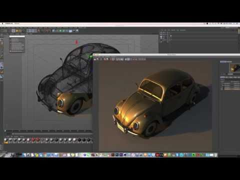 Cinema 4D Rendering Tutorial_ G.I Luminance Rendering (시네마4d 강좌_글로벌일루미네이션 렌더링강좌) - YouTube