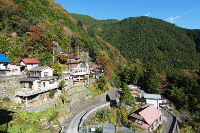 Himura colony. Okutama, Tokyo 桧村集落