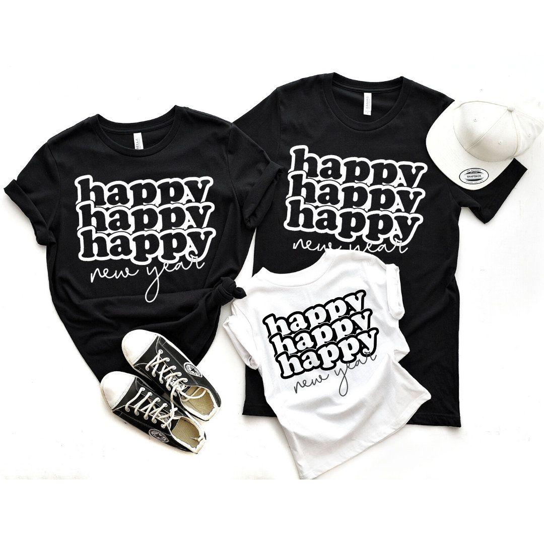 Happy New Years tee ,Family Shirts,Funny Tees,Family New