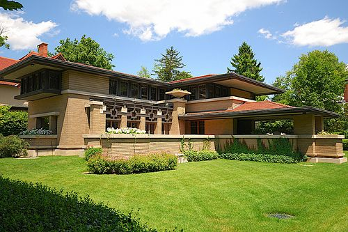 Shingle style and american arts and crafts frank lloyd for Frank lloyd wright craftsman style