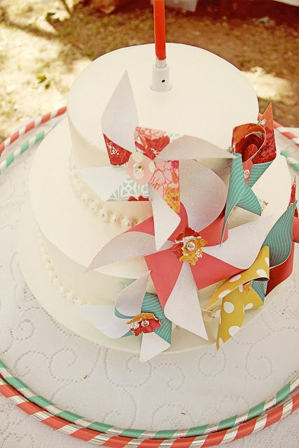 Kara's Party Ideas | Kids Birthday Party Themes: pinwheel party