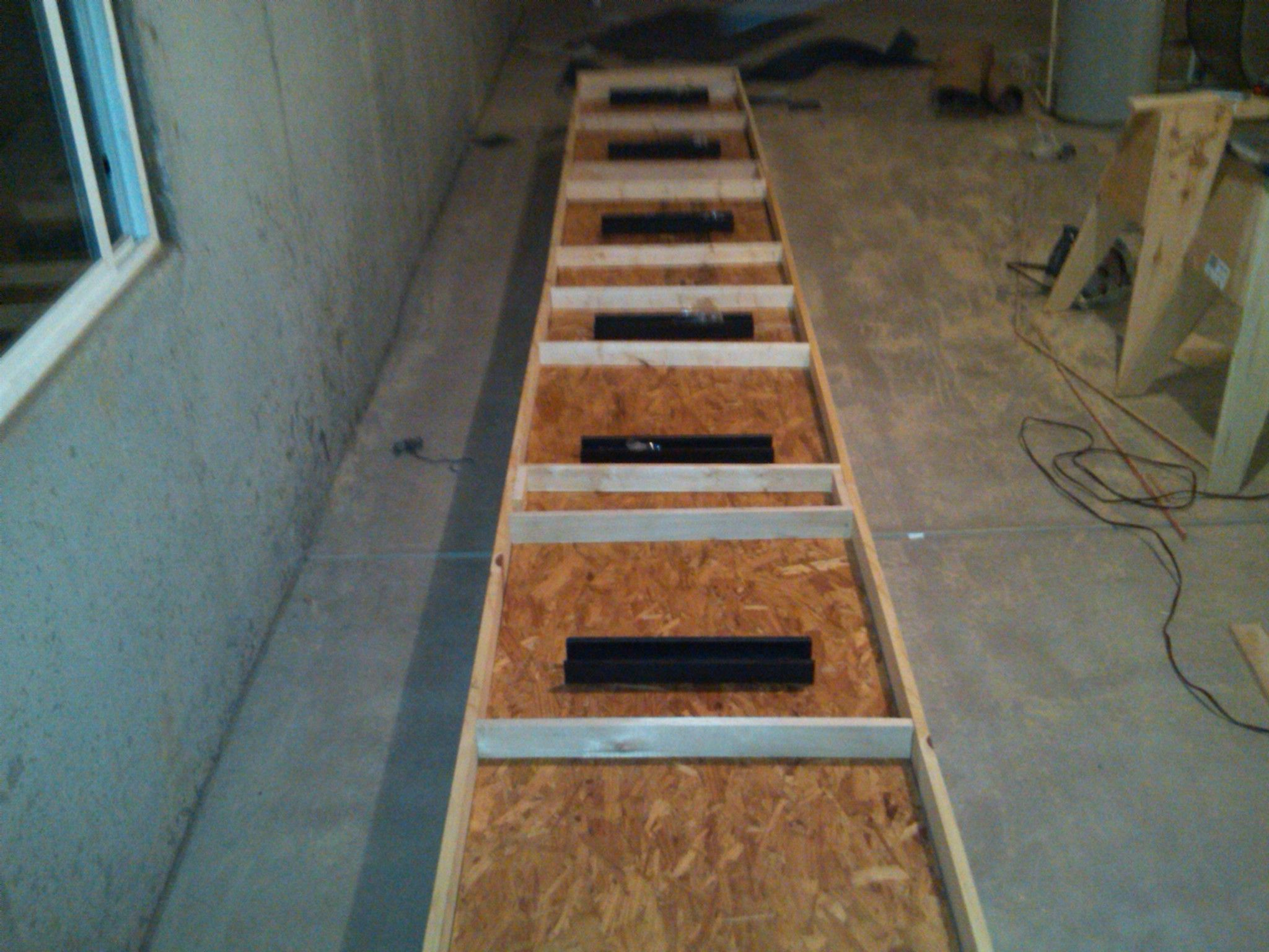Build A Shuffleboard Table  The Box | How To Build A Shuffleboard Table
