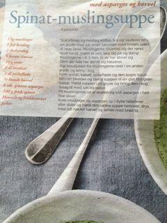 Spinat-muslingesuppe