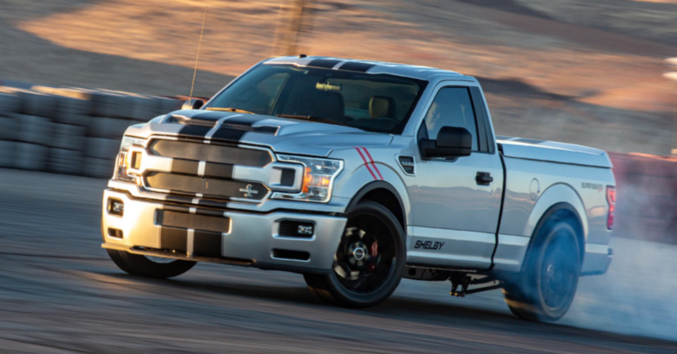 Shelby Super Snake Sport F 150 Concept Is A 755 Hp Tire Roaster