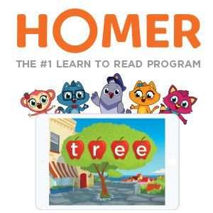 Homer. Learn with Homer; Apps & Software Ages 5 to 8