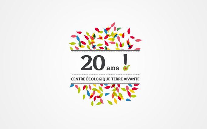 Logo Pour Les 20 Ans Du Centre Terre Vivante Trièves Our Work