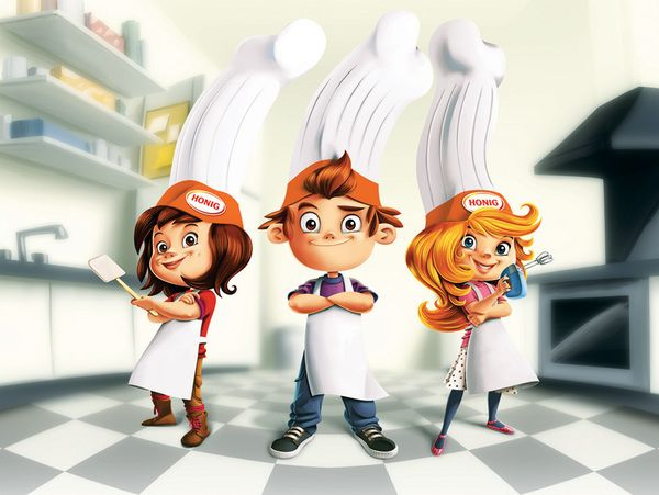 Chef Character Illustrations