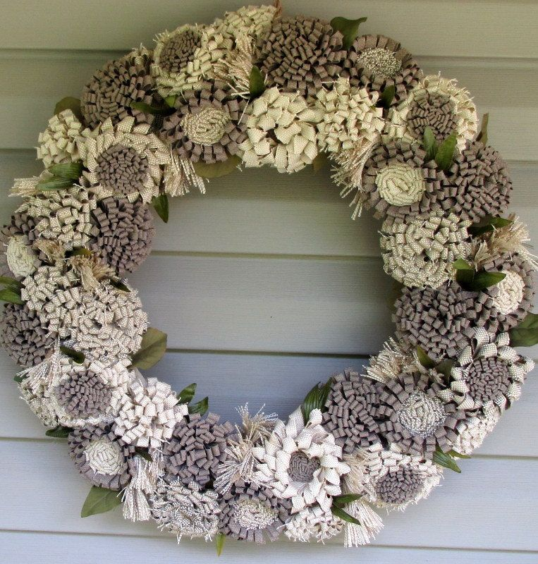 Wedding+wreath+shabby+chic+wreath+summer+by+lisesimplecreations,+$62.00