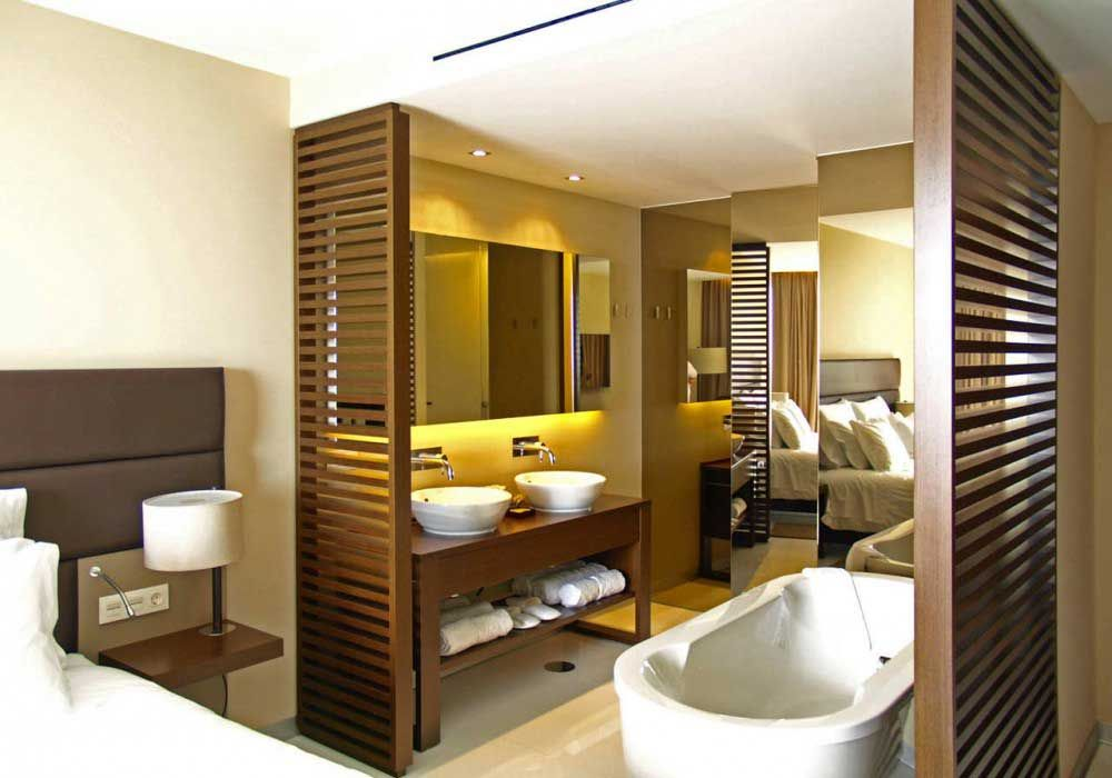 Yellow hotel room interior design zeospot hotel room for Design hotel rooms
