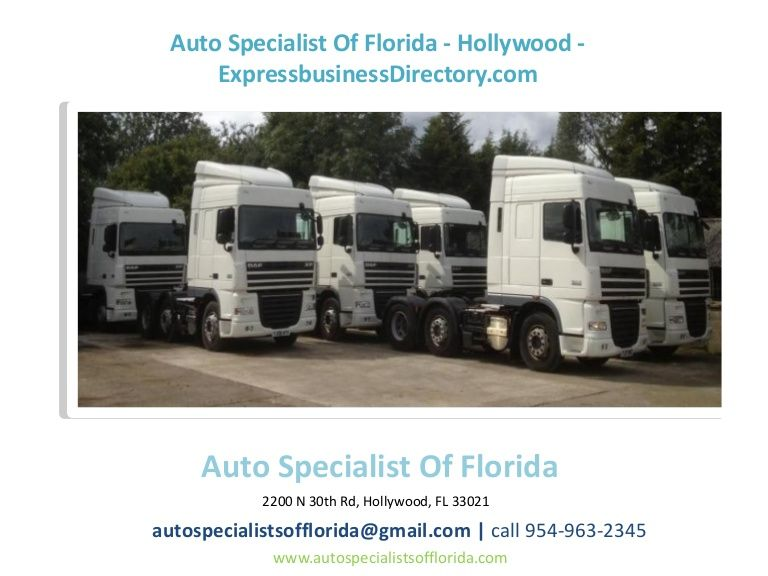 Pin by Auto Specialist Of Florida on Auto Specialist Of