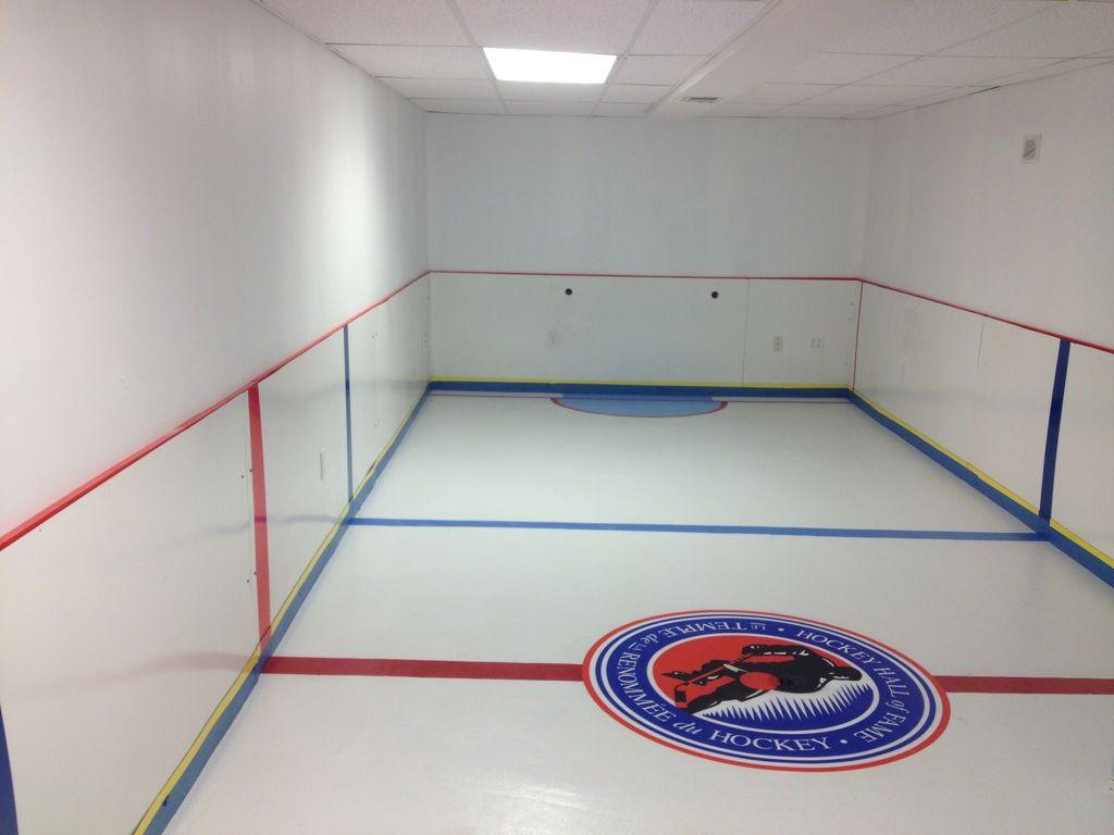 Bardown The Best Mini Hockey Rinks In People S Basements