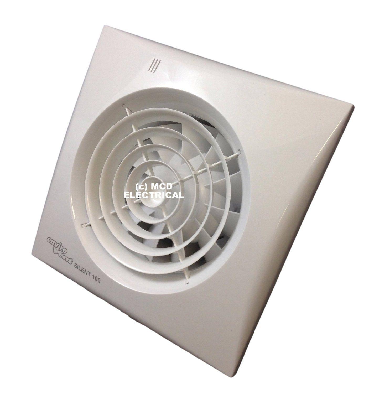 Tremendous Envirovent Silent 100 Ht Bathroom Extractor Fan Humidistat Beutiful Home Inspiration Xortanetmahrainfo