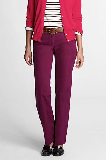 Raspberry Chino from Lands' End
