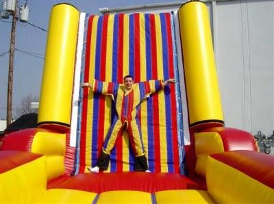 Human Velcro Game Wall Party Rentals Water Slide Rentals Bounce House Rentals