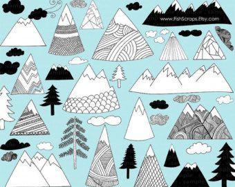 Mountain cute. Mountains tattoos piercings in