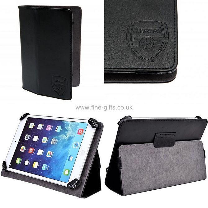 Tablet Covers: Arsenal FC 10 inch Universal Tablet Case - Arsenal Football Club #FineGifts #OfficialFootballClubProducts