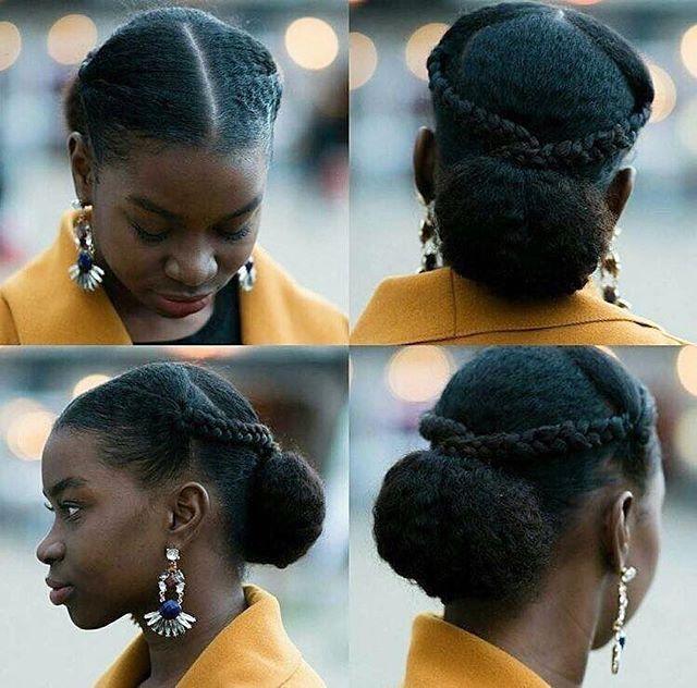 Heyjaee Natural Hair Styles Easy Natural Hair Updo Natural Hair Styles