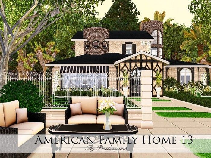 american family home 13 by pralinesims sims 3 downloads cc