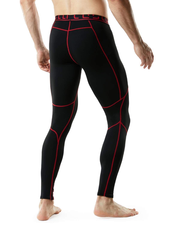 Tesla Men's Thermal Wintergear Compression Baselayer Pants ...