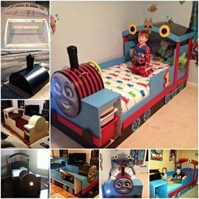 Train Bed Diy Easy Tutorial Plus Plans Thomas Train Bed Kids