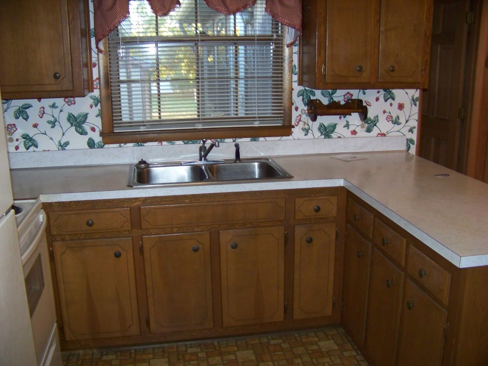 Image result for brown painted kitchen cabinets with ...