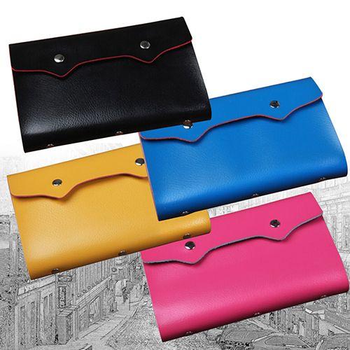 Unisex 108 slots bag name id business card holder faux leather unisex 108 slots bag name id business card holder faux leather credit card case bv5j colourmoves