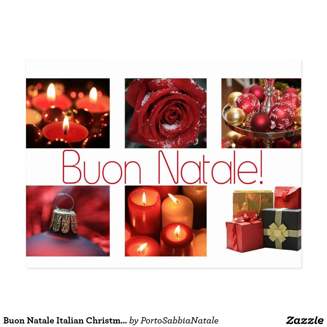 Buon Natale Italian Christmas Card | Christmas cards, Italian and Natale
