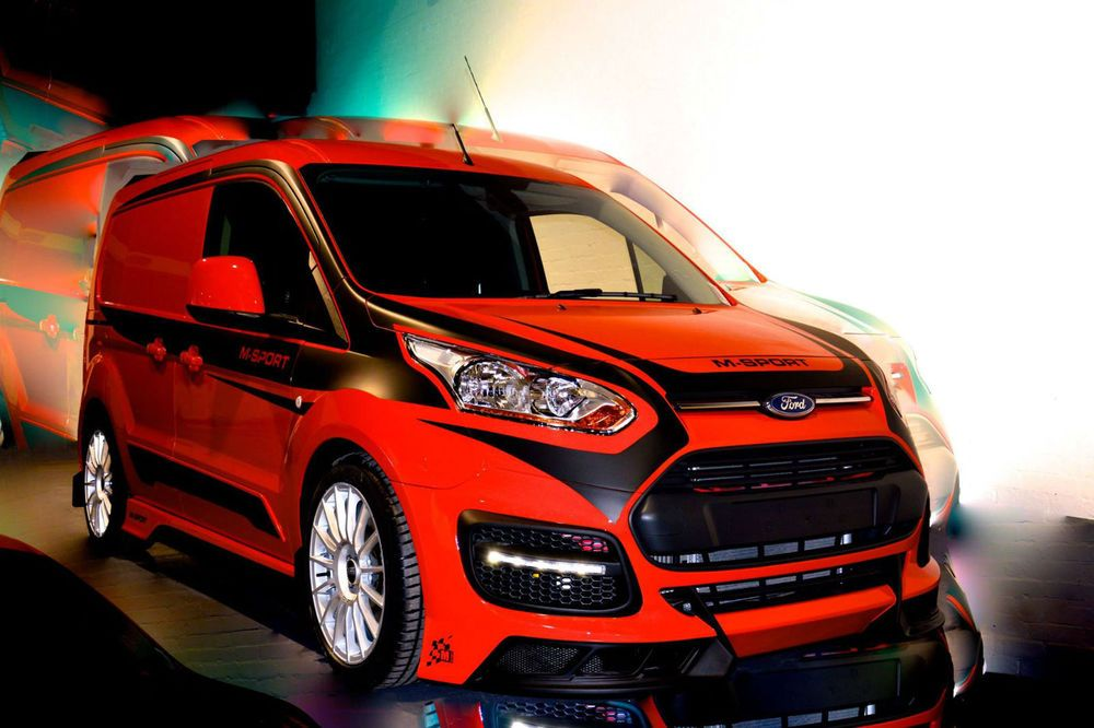 Details About Ford Transit Connect M Sport 120ps Rally Pack