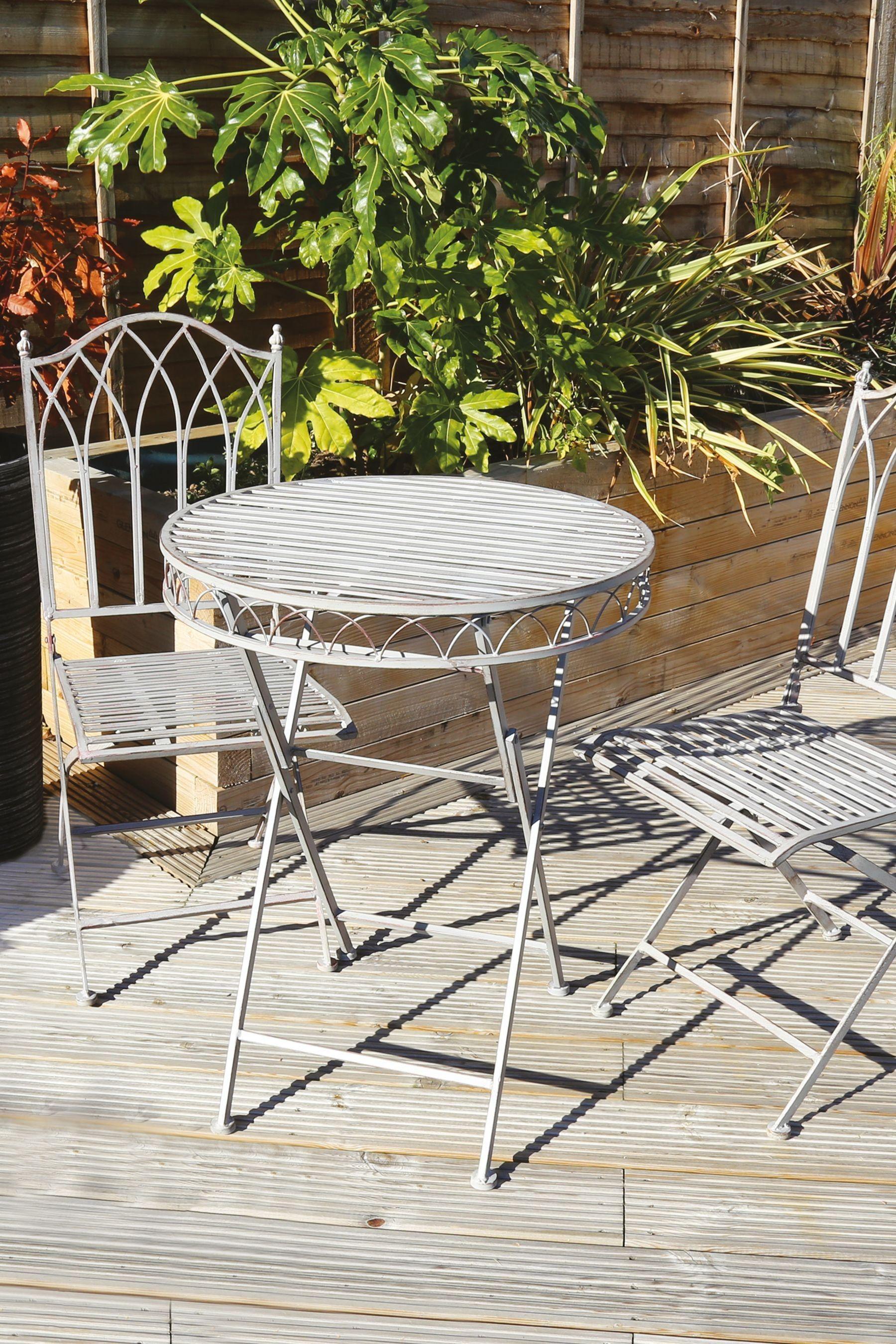 Bistro Set By Charles Bentley Bistro Set Aluminum Patio