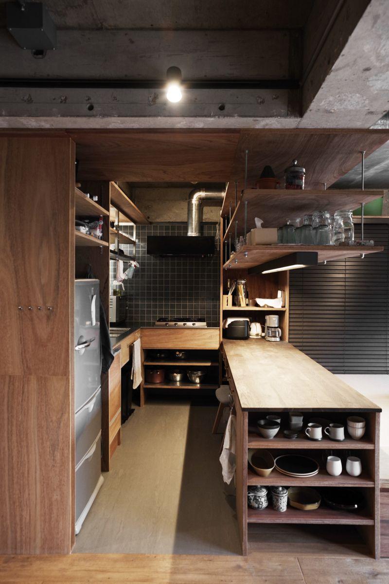 キッチン Kitchen Home おしゃれまとめの人気アイデア Pinterest Aux 厨房 設計 キッチンレイアウト キッチン インテリアデザイン