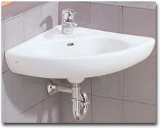 Wall Mount Corner Sink