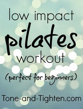 Low Impact Pilates Workout (Perfect for Beginners) -  Low Impact Pilates Workout- Perfect for Beginn...