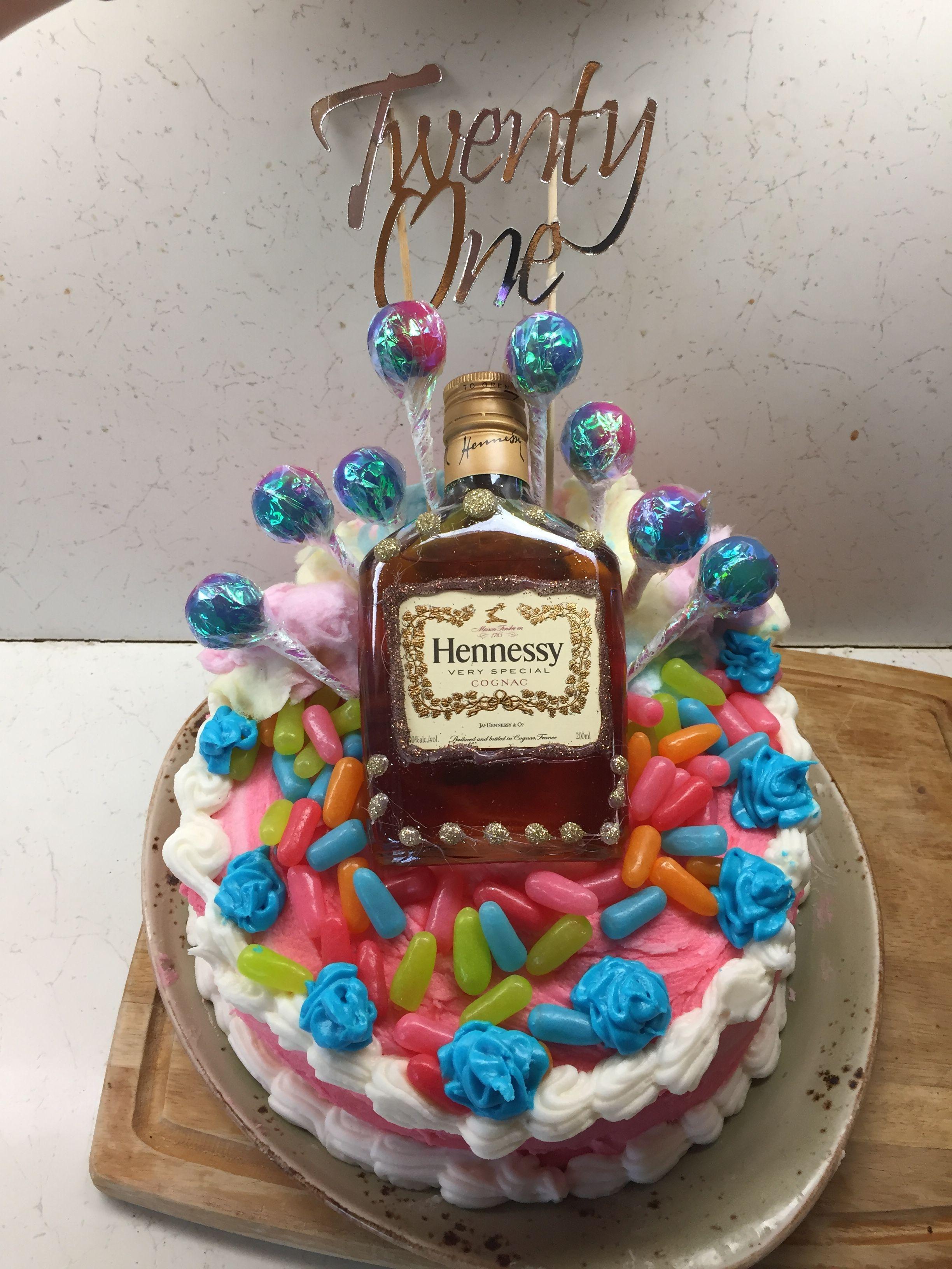 how do you make a hennessy cake