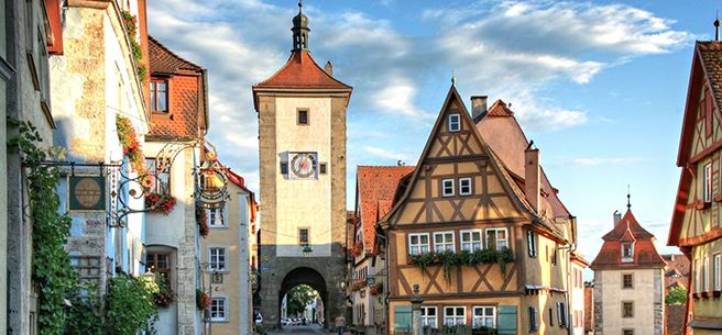 14 Attraction In Germany Olt Town Of Rothenburg Ob Der Tauber