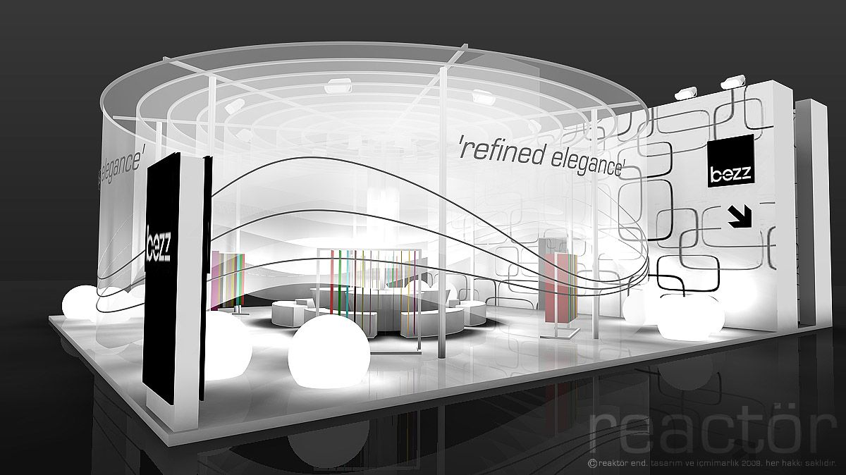 Exhibition Booth Equipment : Creative exhibition booths for trade shows created by
