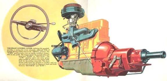 1951 Chevrolet Powerglide Transmission Classic Chevrolet