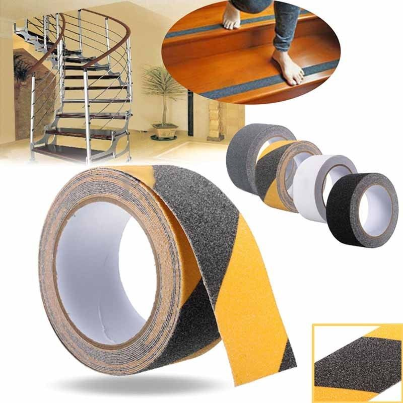 Best 5M Pvc Non Slip Stair Treads Stickers Self Adhesive Black 400 x 300