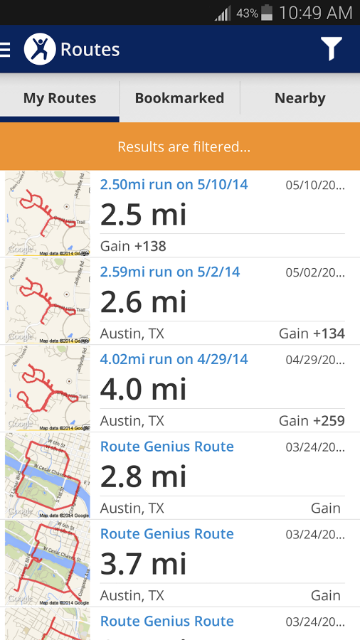 Map My Fitness gets Google Fit integration, Gear Tracker